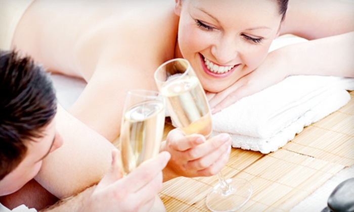 Healing Hands Chiropractic - Chapel Ridge: $129 for a Couples Massage with Foot Soak, Champagne, and Chocolates at Healing Hands Chiropractic ($350 Value)