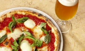 La Strada: Two Pizzas and Beers for Two at La Strada (Up to 59% Off)
