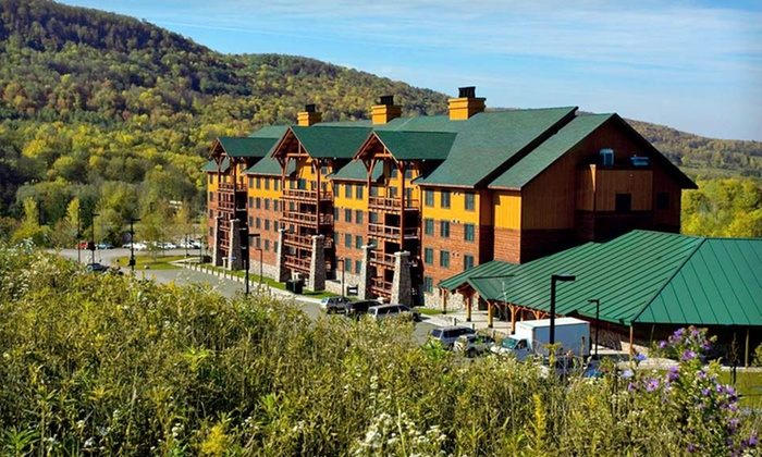Hope Lake Lodge and Conference Center - Cortland, New York: Two-Night Stay with Water-Park Passes at Hope Lake Lodge and Conference Center in Finger Lakes, NY