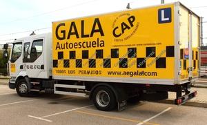 Curso para obtener el carné C, E o C+E con 4 o 6 prácticas desde 69 € en más de 40 centros de Autoescuela Gala