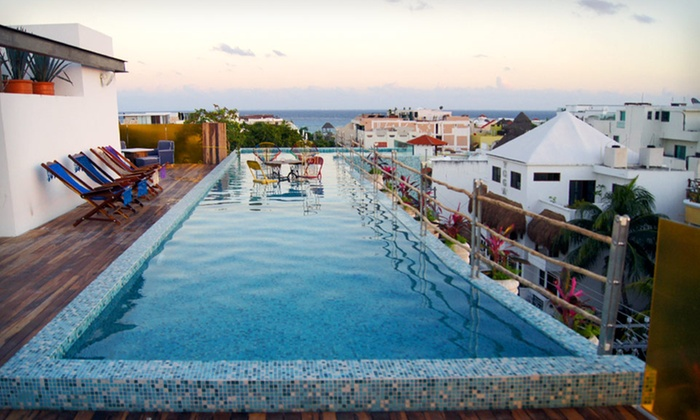Be Playa - University District: Three-, Four-, or Five-Night Stay at Be Playa in Playa del Carmen, Mexico
