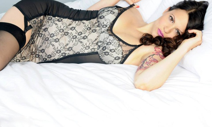 Revival Pinups - Logan Square: 30- or 60-Minute Boudoir Photo Shoot with Retouched Digital Images at Revival Pinups (Up to 71% Off)