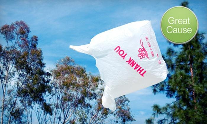 The Plastic Bag Solution - Ukrainian Village: $15 Donation to Promote Reusable Bags