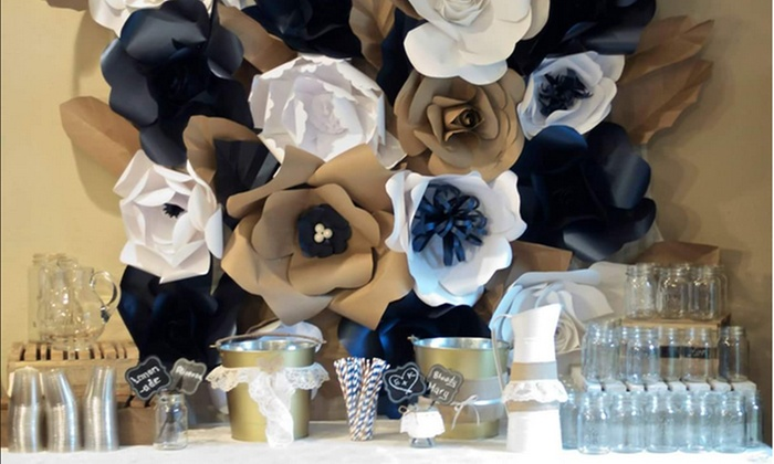 Kayvycrafts: Paper Flowers at Kayvycrafts (Up to 48% Off). Two Options Available.