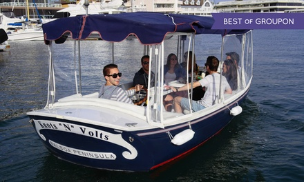 $69 for 90-Minute Electric-Boat Rental from Newport Fun Tours ($135 Value)