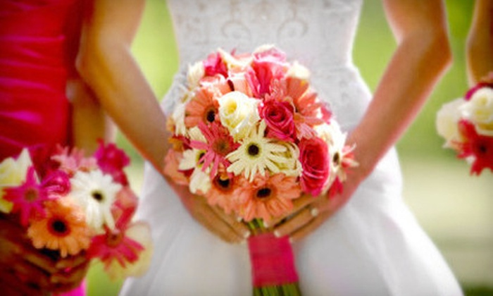 DFW Creative Floral Design - Fort Worth: Bridal or Wedding-Reception Floral Designs from DFW Creative Floral Design (Up to 62% Off)