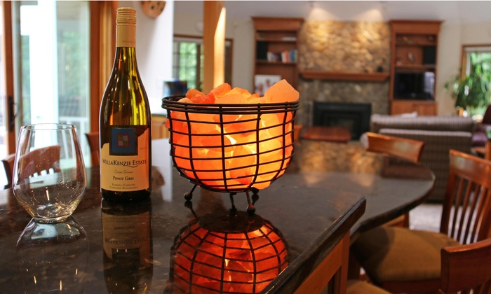 Salt Lamps R Us Coupon : Himalayan Wire-Basket Salt Lamp Groupon Goods