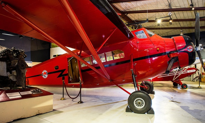 Alaska Aviation Heritage Museum - Anchorage International Airport: Visit with for Two or Four at Alaska Aviation Heritage Museum (Up to 52%Off)