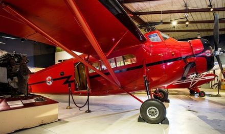 Visit with for Two or Four at Alaska Aviation Heritage Museum (Up to 52%Off)