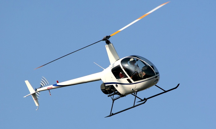 Eagles Arie - Sussex Airport (KFWN): Safari Helicopter Tour for 3 or 2 at Eagles Arie (Up to 51% Off)