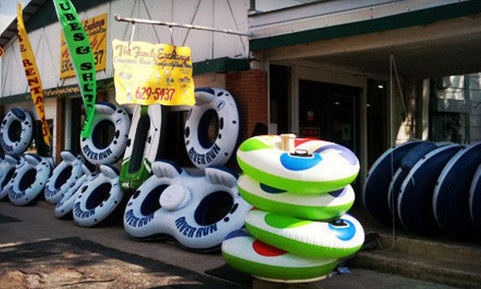 Comal Tubes - Downtown New Braunfels: River Tubing for Two or Four at Comal Tubes in New Braunfels (Up to 60% Off)