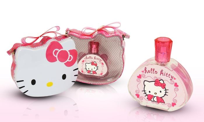 Hello Kitty Eau De Parfum Set Groupon Goods