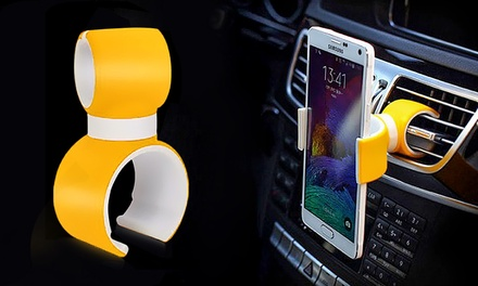 $12 for a 360Degree Smartphone Holder in Black or Grey