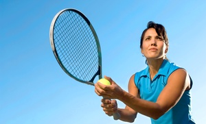 Tennis With Travis: One or Two 60-Minute Private Tennis Lessons at Tennis With Travis (Up to 58% Off)
