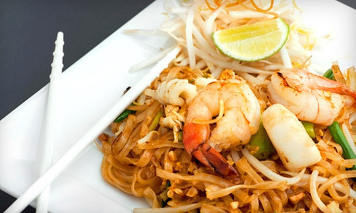 Pink Pepper - Dobson Ranch: Thai Cuisine at Pink Pepper in Mesa (Half Off). Two Options Available.