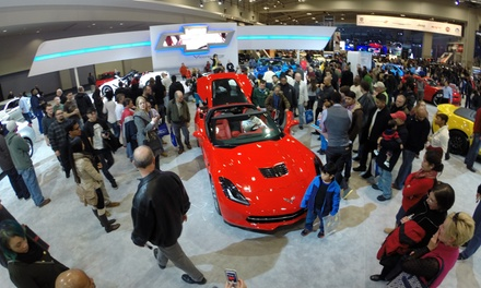 $8 One Weekday Ticket to The Washington Auto Show, Valid January 26–29 ($12 Value)