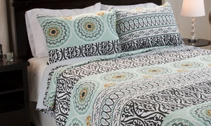 Cotton Printed Quilt Sets (3-Piece) at TRADEMARK GAMES, INC, plus 6.0% Cash Back from Ebates.