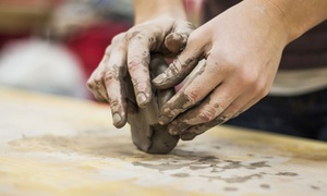 Make Me Take Me, Inc: Two Hour BYOB Pottery Classes for One, Two, or Four at Make Me Take Me, Inc (Up to 54% Off)