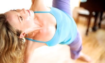 10 Yoga Classes or One Month of Unlimited Yoga Classes at Svaha Yoga Center (Up to 77% Off)