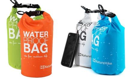 Waterproof Sports Bag: 2L $12, 5L $16 or Both $24
