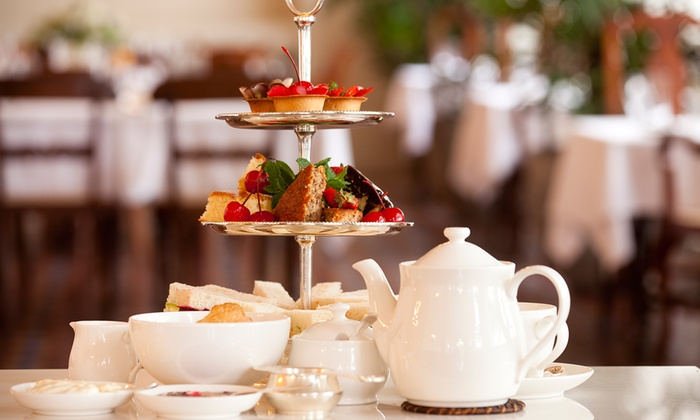The Isles Teashop - The Isles Teashop: High Tea Time for Two or Four with Sandwiches, Scones, and Assorted Snacks at The Isles Teashop (Up to 45% Off)
