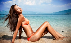 SunsUp Tanning Centers: One Month of Unlimited Bed Tanning or Three Spray Tans at SunsUp Tanning Centers (Up to 69% Off)