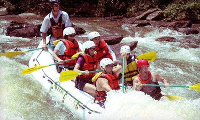 Sunburst Adventures - Benton: Half-Day Whitewater-Rafting Trip for One, Two, or Four at Sunburst Adventures (Up to 56% Off)