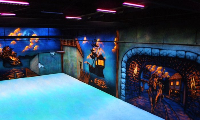 Royal Pin - Pirates Quest Laser Tag - Keystone at the Crossing: Woodland Bowl: 4, 8, or 12 Games of Laser Tag at Royal Pin - Pirates Quest Laser Tag (Up to 55% Off)