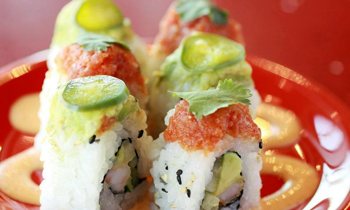 Roll On Sushi Diner - Burnet Rd.: $12 for $20 Worth of Traditional and Austin-Inspired Sushi at Roll On Sushi Diner