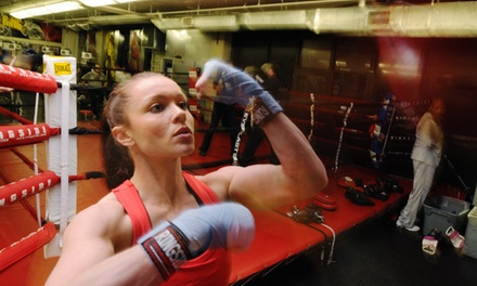 5 Boxing Classes with Gloves and Hand Wraps at The Ring Boxing Club (Up to 80% Off)