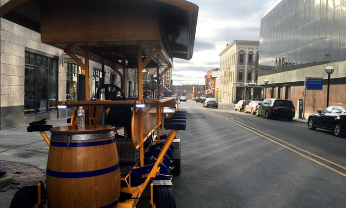 High Five Pedal Tours - Bach: Two-Hour Guided Pedal Trolley Tour for 4, 6, or 10 from High Five Pedal Tours (Up to 50% Off)