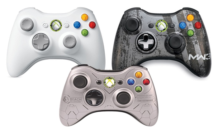 Microsoft Xbox 360 Wireless Controllers: Microsoft Xbox 360 Wireless Controller (Microsoft Refurbished). Multiple Designs from $29.99–$34.99. Free Returns.