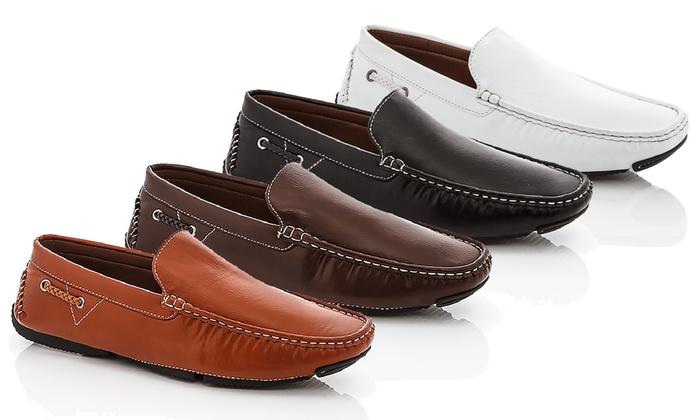 Franco Vanucci Men's Calvin Drivers Shoes