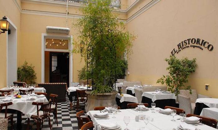 El Historico - El Histórico: Desde $425 por almuerzo o cena para dos o cuatro con entrada + plato principal + copa de despedida en El Histórico