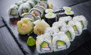 Gurin Sushi: Japońskie przysmaki: 35,99 zł za groupon wart 60 zł do wydania na całe menu i więcej w Gurin Sushi (do -40%)