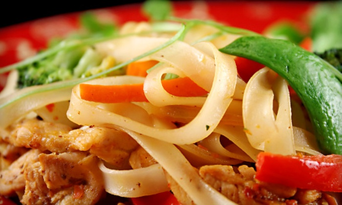 Bangkok Cuisine - Clinton Township: $11 for $20 Worth of Thai Food at Bangkok Cuisine's Clinton Township Location