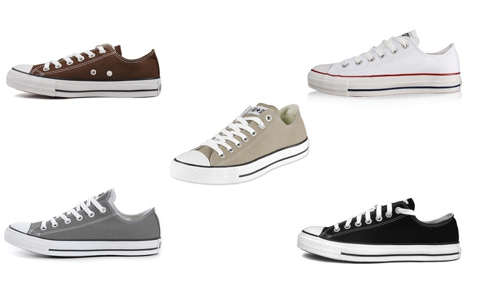 Converse basses mixtes | Groupon Shopping