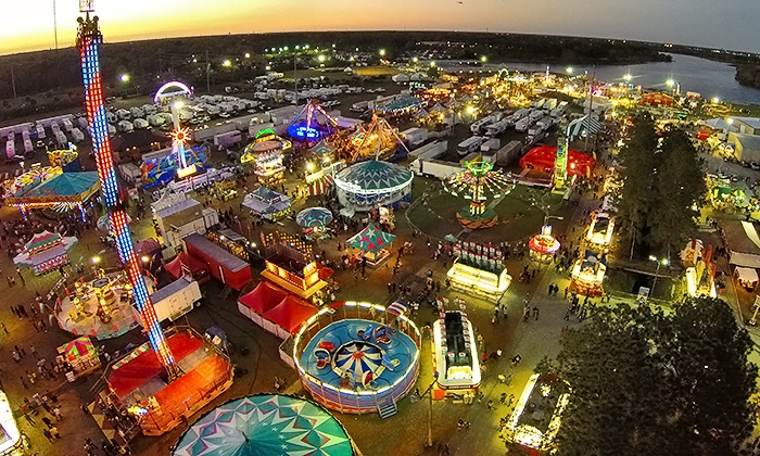 Central Florida Fair - West Colonial: Family Pack of Four or Two Admissions to Central Florida Fair (35% Off)