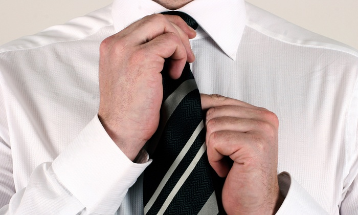 A Plus Tailors and Cleaners - Multiple Locations: $18 for $30 Worth of Tailoring Services at A Plus Tailors and Cleaners