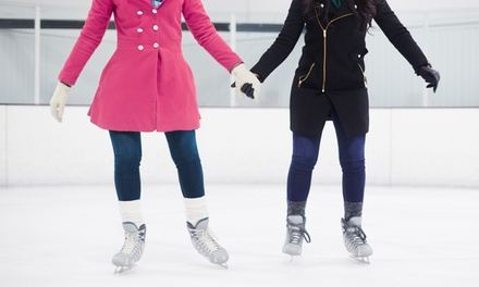Ice Skating and Skate Rentals for Two, Four or Six at Wichita Ice Center (Up to 50%Off)