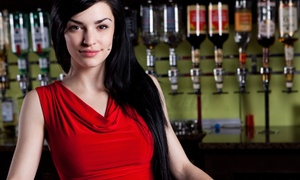 AAA International Bartending School: Bartending Class for One or Two, or Certification Course at AAA International Bartending School (Up to 75% Off)