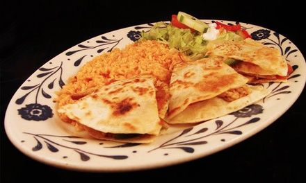 $13 for $25 Worth of Mexican Food at El Tapatio Mexican Restaurant