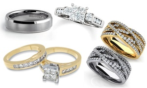 Shaboo's Exquisite Collection: Jewelry and Wedding Bands with Engraving at Shaboo's Exquisite Collection (45% Off). Three Options Available.