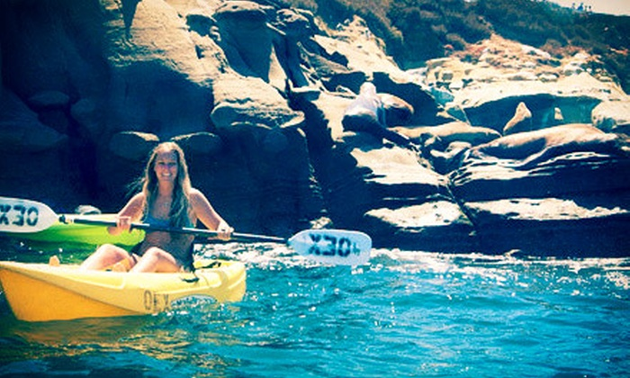 OEX La Jolla - La Jolla Shores: 60-Minute Snorkel Tour or 90-Minute Sea-Cave Tour from OEX La Jolla (Up to 61% Off)