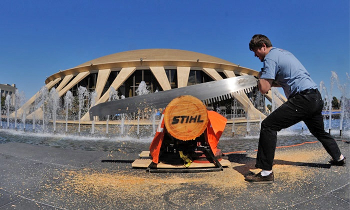STIHL Timbersports US Pro & Collegiate Championship - Exhibition Hall At Norfolk Scope: Ticket to STIHL Timbersports US Pro & Collegiate Championship at Norfolk Scope Arena on June 20–22 (Up to 43% Off)
