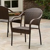 Set of 2 Rancho Outdoor Wicker Chairs