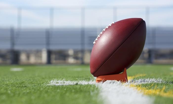 Alameda Pirates Football & Cheer - San Francisco: $88 for $250 Groupon — Alameda Pirates Football & Cheer