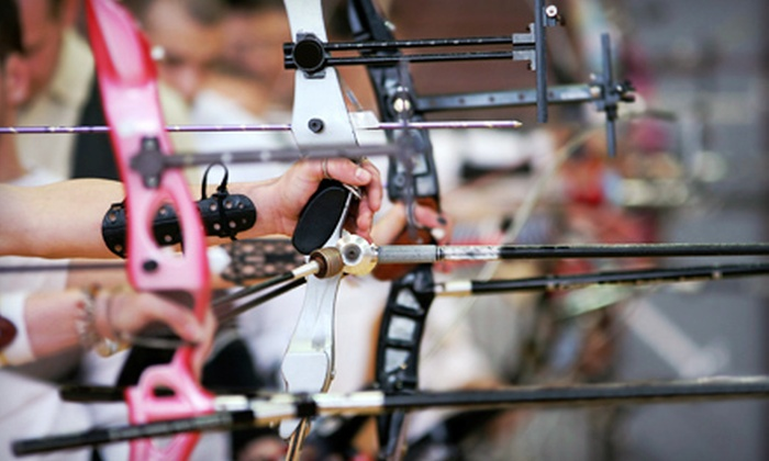BOSS Archery Shop - Concord: $35 for an Archery Lesson with Gear and Range Time for Two at Boss Archery Shop ($80 Value)