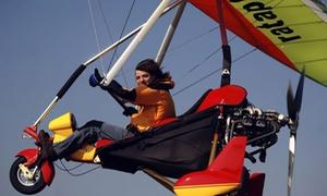 Achille Cesarano: Volo in deltaplanocon pilota alle pendici del Monte Conero per una o 2 persone (sconto 60%)