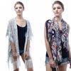 Kimono Capes with Fringe Trim